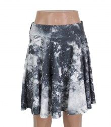 Серая трикотажная юбка на резинке Sparkle&Fade 16831