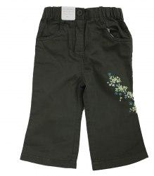 Зеленые штаники с вышивкой на малышку Little Girl Star 16960