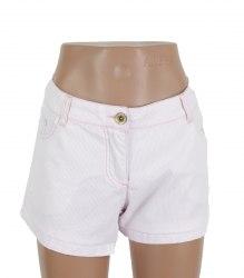 Короткие шорты в розово-белую полоску Glo-Story 17324