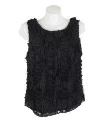 Черная блуза-безрукавка Lindex 17364