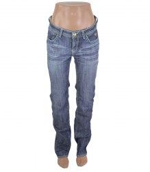 Синие джинсы с карманами-яблоками Apple Bottoms 17385