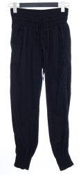 Черные штаны с широкими резинками на поясе и манжетах Desigual 4137