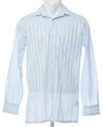 Голубая рубашка с атласной полосой Littlewoods 4616