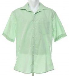 Салатовая рубашка с коротким рукавом Splendesto 4617