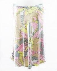 Золотисто-розовая расклешенная юбка Taifun 5715