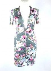 Летнее платье на молнии с цветочным принтом Jean Paul 6211