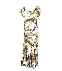 Трикотажное платье с капюшоном Mer D'or 6508