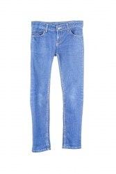 Синие облегающие джинсы Crash One 6807