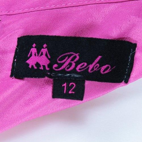 Блуза-безрукавка с замком на спине Bebe 7305