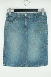 Джинсовая юбка с оригинальными карманами None 1136