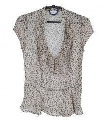 Блуза-безрукавка с цветочным принтом Orsay 7637