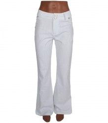 Белые джинсы Bonny girl 7789