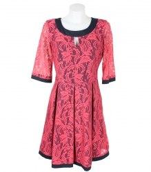 Гипюровое платье на подкладке Van Gils 8262