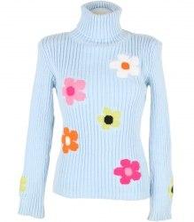 Вязаный свитер с цветами Name's 9349