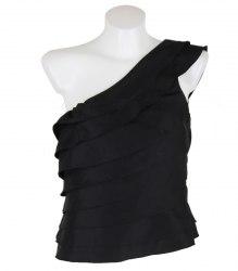 Черная блуза на одно плечо Asos 10909