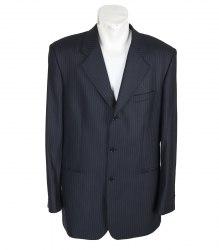 Серый костюм в полоску Legenda Class 11735