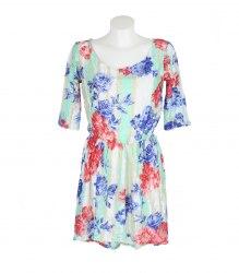 Гипюровое платье разной длины Elegance 11771