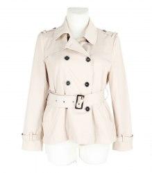 Кремовая куртка из плащевки Dunnes 11838