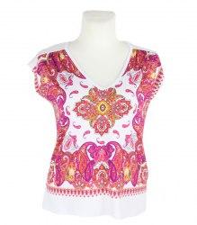 Цветная футболка-безрукавка Bodyflirt 11993