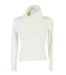 Вязаный свитер с косами Elfa 12060