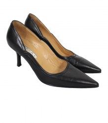 Черные туфли-лодочки на каблуке Deska E Libera 12132