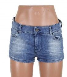 Короткие джинсовые шорты Zara 12186