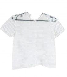 Полупрозрачная блуза на девочку Simonetta 12353
