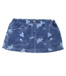Джинсовая юбочка на девочку Bambino 12410