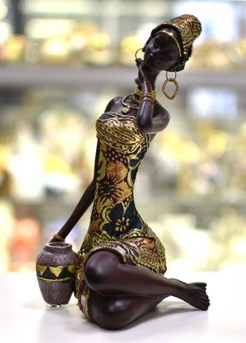Статуэтка Африканка 3 art.10193