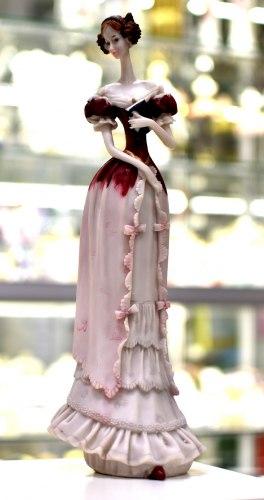 Статуэтка Дама с книгой art.10231