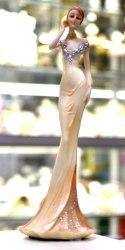 Статуэтка Леди в платье art.10233