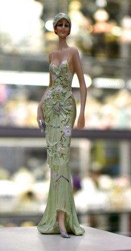 Статуэтка Леди в зеленом art.10234