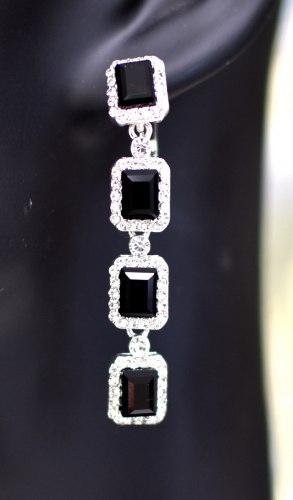 Серьги в серебре 6 s-028