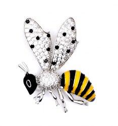 Брошь Пчелка b-156