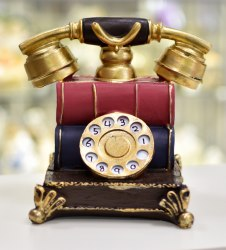 Телефон ретро с книгой ks-166