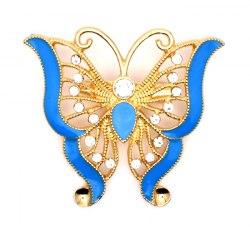 Брошь Бабочка эмаль 2 b-058