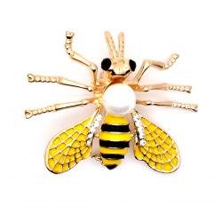 Брошь Пчелка 3 b-094