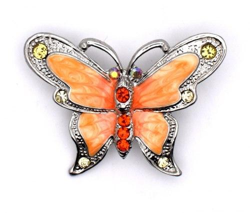 Брошь Бабочка 5 b-191