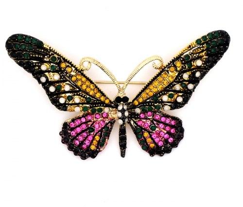 Брошь Бабочка 14 b-184