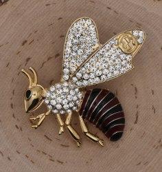 Брошь Пчела большая b-224