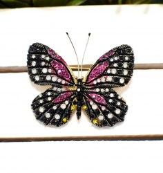 Брошь Бабочка 18 b-240