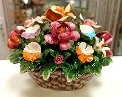 Фарфоровые цветы 5 ks-333