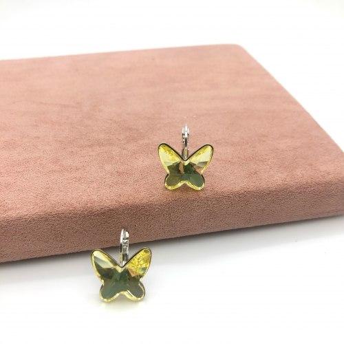 Серьги бабочки S-006