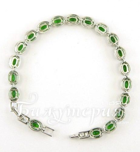 Браслет зеленый bc-004