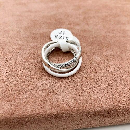 Кольцо из керамики 2 S-0093