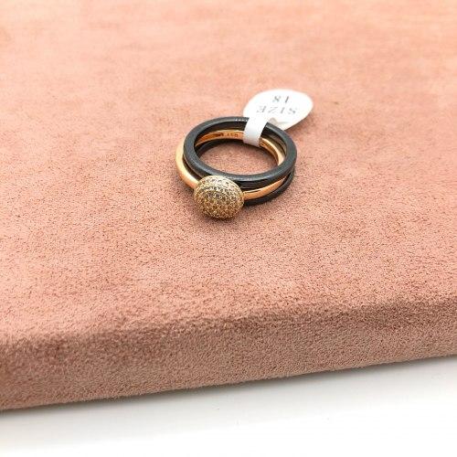 Кольцо из керамики 4 KER-0022