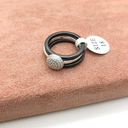 Кольцо из керамики 9 KER-0027