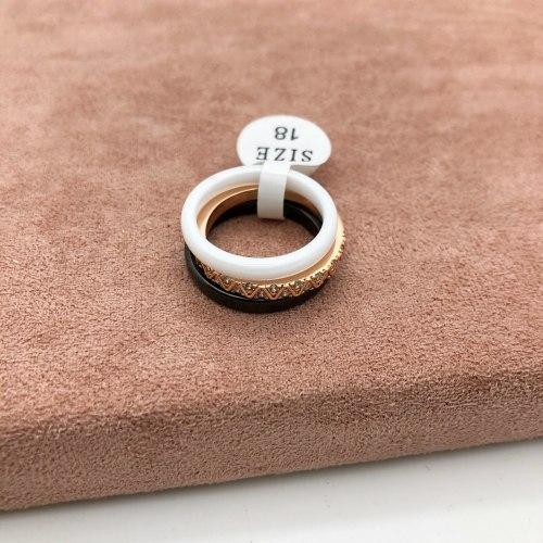 Кольцо из керамики 13 KER-0031