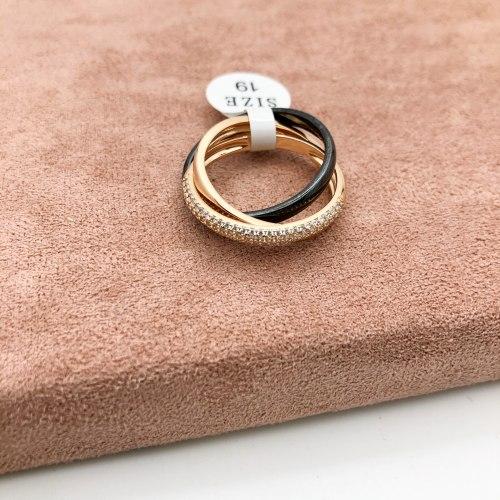 Кольцо из керамики 14 KER-0032