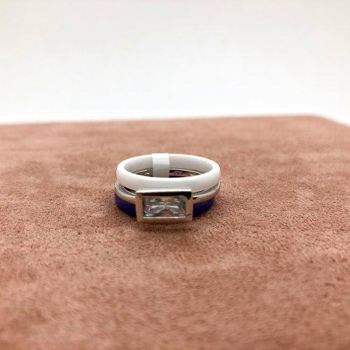 Кольцо из керамики 16 KER-0034
